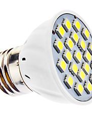 3W E26/E27 LED bodovky MR16 21 SMD 5050 240 lm Přirozená bílá AC 110-130 / AC 220-240 V