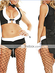 Sexy Hefs Babe Play Bunny Halloween Costume(5Pieces)