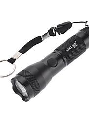 Small Sun ZY-560 Mode Vodotěsné LED svítilna (100ML, 1xAA, Black)
