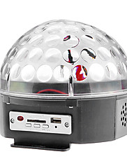 Zvuk Actived 3W RGB LED Stage Crystal Magic Ball pro Disco Party Stage (85-260V)