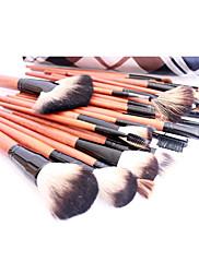 トレリスデザインポーチ付きプロの高品質36パソコン天然ヤギ毛のメイクブラシセット