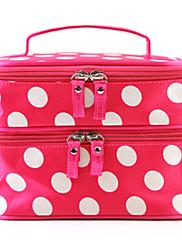 Big Dot Pattern Double Layer kosmetická taška