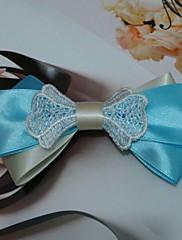 Čerstvé modrá Sabin 11,5 cm Bow Sladká Lolita Barrette