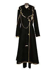 Inspirovaný Devil Survivor Yamato Hotsuin Video Hra Cosplay kostýmy Cosplay šaty Patchwork CzarnyKabát / Tričko / Kalhoty / Kravata /