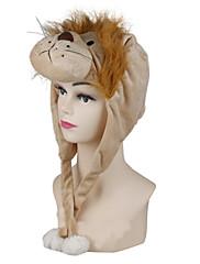 ユニセックス激しい男性ライオン暖かな着ぐるみアミナールビーニー