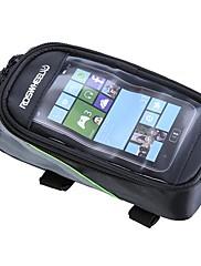 Cyklistická taškaBrašna na rám / Mobilní telefon Bag Reflexní pásek / Odolné vůči prachu / Protiskluzový povrch / Dotyková obrazovkaTaška