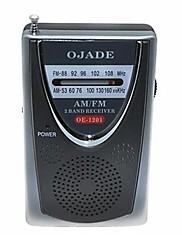 OJADE OE-1201 Mini prijenosni AM / FM 2-band radio