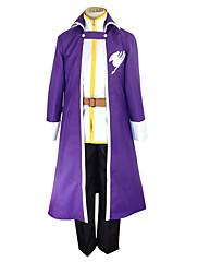 Inspirovaný Fairy Tail Gray Fullbuster Anime Cosplay kostýmy Cosplay šaty Patchwork Czarny / Fialová Kabát / Tričko / Kalhoty / Pásek