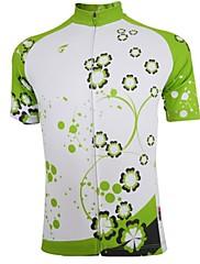 GETMOVING Cyklodres Dámské Krátké rukávy Jezdit na kole Dres Vrchní část oděvu Rychleschnoucí Prodyšné elastan Polyester LétoOutdoor a