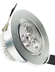 3W シーリングライト 埋込み式 3 ハイパワーLED 200 lm クールホワイト AC 100-240 V