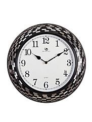"""15.2 """"H Modern Style obdélník vzor Water-drop Pointer Polyresin Nástěnné hodiny"""