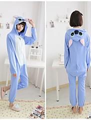 dospělý modrý steh bavlněné pyžamo kigurumi zvířat spaní pro jaro&podzim