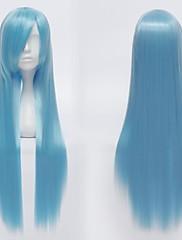 unisex dlouhé rovné cosplay paruka