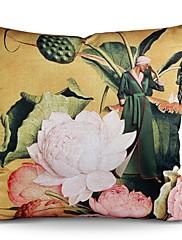 """4本/ 18 """"トリビュートピーチスキンパーソナライズ枕/美しさと花シリーズのhitangのダマスク織"""