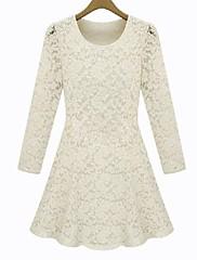 liangmeiyue™女性のファッションスリムレースの長い袖のドレス(色以上)
