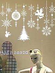 samolepky na zeď Lepicí obrazy na stěnu, nástěnné malby vánoční bytové dekorace PVC Wall Stickers