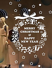 samolepky na zeď Lepicí obrazy na stěnu, vánoční strom bytové dekorace PVC Wall Stickers