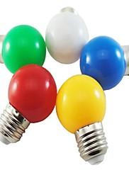 1W E26/E27 LEDボール型電球 G45 8 SMD 2835 50 lm ナチュラルホワイト / レッド / ブルー / イエロー / グリーン 装飾用 交流220から240 V