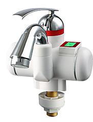 キッチンデジタル電気温水器の蛇口コールドホットデュアルパーパス知能表示画面