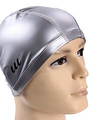 Youyou unisex velké rozměry vysoce kvalitní pu vodotěsné ochranu vlasů protiskluzová ochrana ucho nositelné koupací čepice