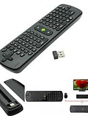 laptop.tabletミニPCゲームbox.pc TV用measyのRC11エアーマウスキーボード2.4GHzワイヤレスジャイロスコープハンドヘルドリモートコントロール