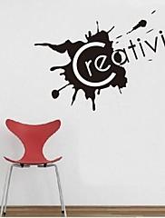 ウォールステッカーウォールステッカー、創造性の英単語&PVCウォールステッカーを引用