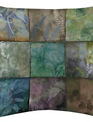 tamna biljka boja devet krpa uzorak baršuna dekorativne jastučnicu