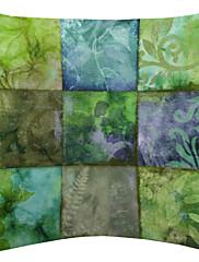 Svjetlo Biljka boje devet krpa uzorak baršuna dekorativne jastučnicu