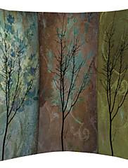 green postupna promjena stablo uzorak baršuna dekorativne jastučnicu
