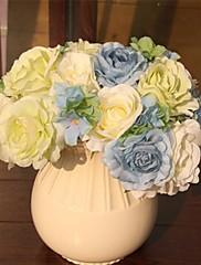 ramos de novia elegante de la boda rosa fresca (más colores)