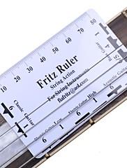 アコースティックエレキギター用ギターの弦ピッチルーラーフリッツ定規