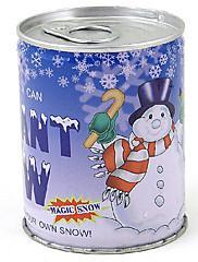 instant sníh může magic umělý sníh prášek umělé vánoční dekorace DIY