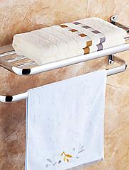 Tyč na ručníky / Polička do koupelny / Topení na ručníky Chrom Na ze´d 69*29.5*9.5cm(27.2*11.6*3.7inch) Nerez Moderní