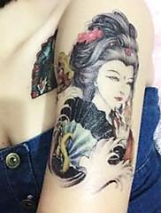 sexy klasické femme fatale tetování samolepky dočasné tetování (1 ks)