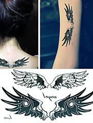 krásný anděl křídla tetování samolepky dočasné tetování (1 ks)