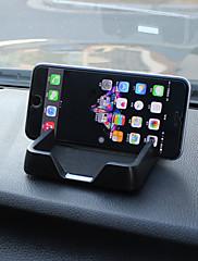 1のエッジの高いマットグローブボックス、滑り止めマット、カーホルダー3次の2つの携帯電話を置くことができます