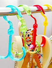 4本のクリエイティブ乾燥靴はランダムな色をフック