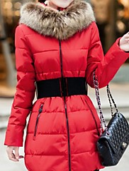 Ležérní Stojací límec - Dlouhé rukávy - ŽENY - Coats & Jackets ( Směs bavlny )