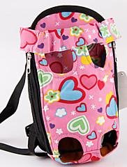 roztomilý přenosné pet carrior batoh pro psy kočky 37 * 20,5 cm / 15 * 8 palců