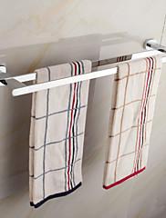 moderní elegantní mosaz chome 60cm doble držák na ručníky