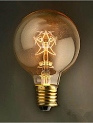 G80五角形レトロな装飾40ワット電球