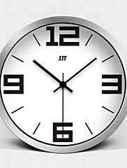 móda evropský výborný mute kovové nástěnné hodiny