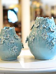 Vlákno Orchidej / Světle modrá Umělé květiny