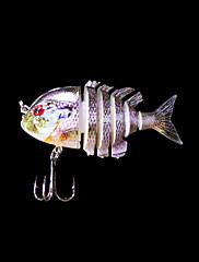1 個 ハードベイト / ルアー ハードベイト パープル 5 グラム オンス,80 mm インチ,硬質プラスチック 海釣り