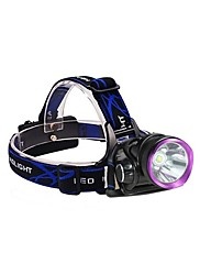 Lights Headlamps / Bike Lights LED 2500 Lumens 3 Mode 18650 Waterproof / Rechargeable / Impact ResistantCamping/Hiking/Caving / Everyday