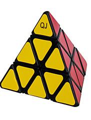 Qiji® Hladký Speed Cube 3*3*3 Rychlost Magické kostky Black Fade / Ivory Plast