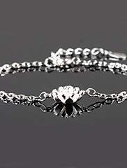 Svatební / Párty / Denní / Ležérní - Řetězové & Ploché Náramky / Náramky s přívěšky ( Stříbro )