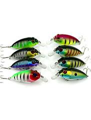 """8 個 ルアー クランク ランダム色 グラム/オンス,70 mm/2-3/4"""" インチ,硬質プラスチック 川釣り バス釣り 一般的な釣り"""