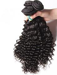 Lidské vlasy Vazby Malajské vlasy Velké vlny 18 měsíců 3 kusy Vazby na vlasy