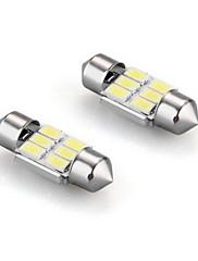 6白×2、内部ドーム電球ライト31ミリメートルをフェストゥーン5630 SMDを主導しました